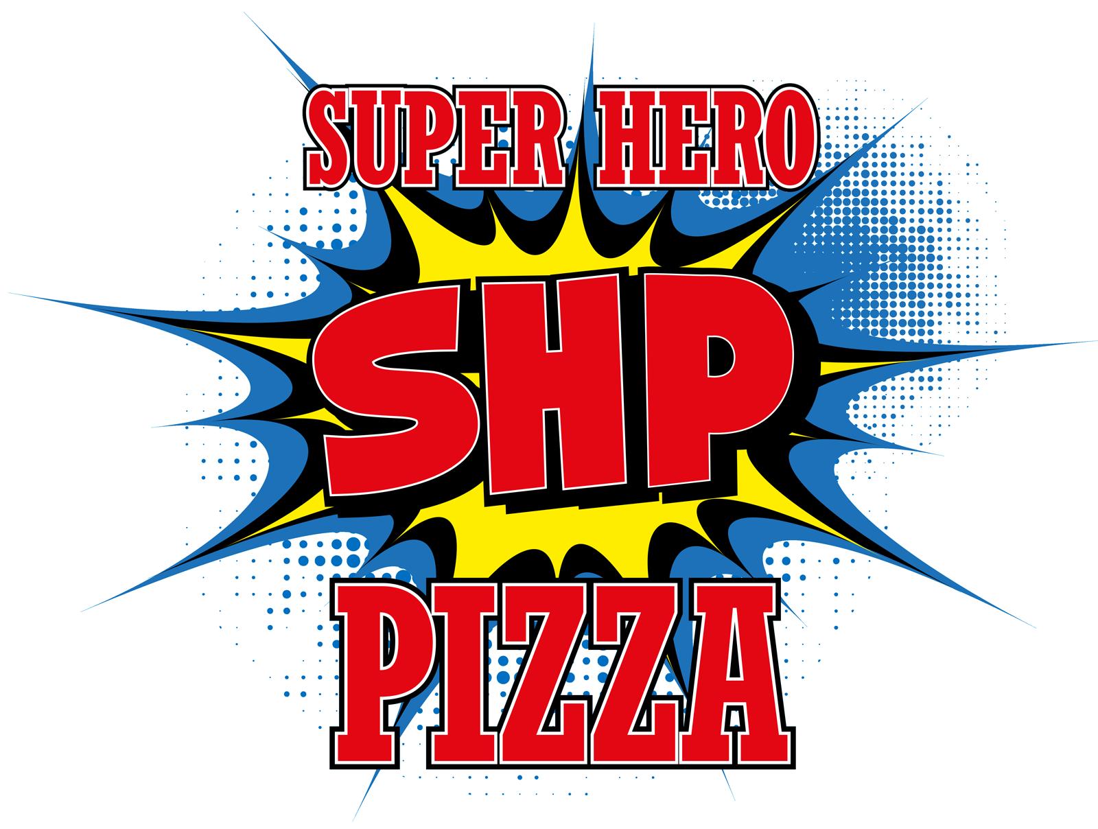 SuperHero Pizza Logo
